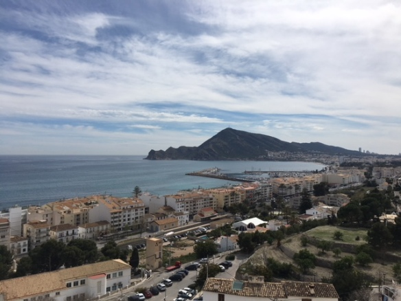 Altea to the South