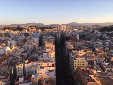 light over the city - Alicante