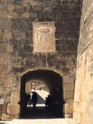 Santa Barbara Castle entrance - Alicante