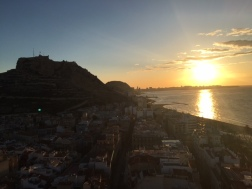 Sunset Alicante