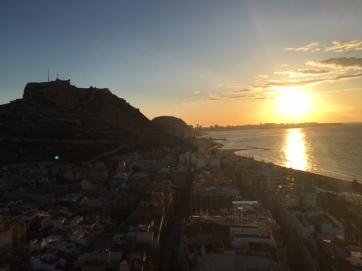 Sunset Alicante