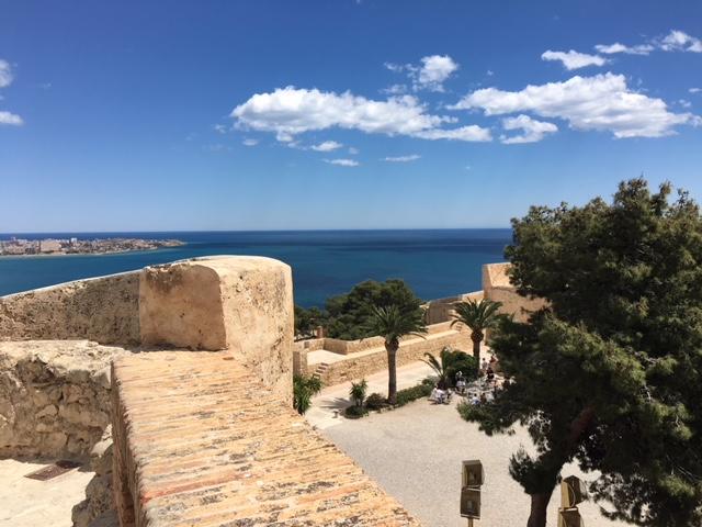 View North - SB castle - Alicante